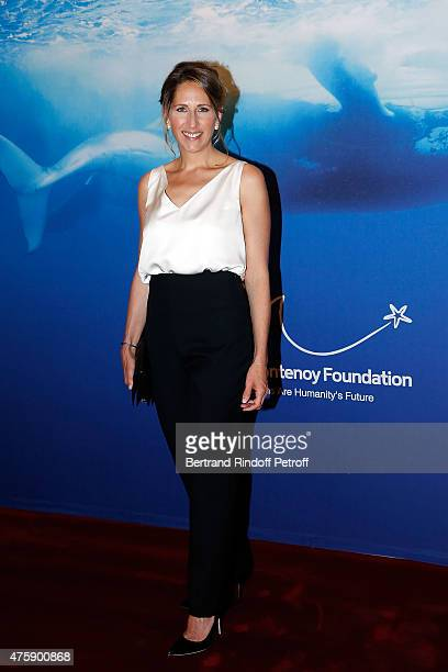 Maud Fontenoy attends the Charity Dinner benefit the Maud Fontenoy Foundation for Preserve Oceans at Hotel Bristol on June 4 2015 in Paris France