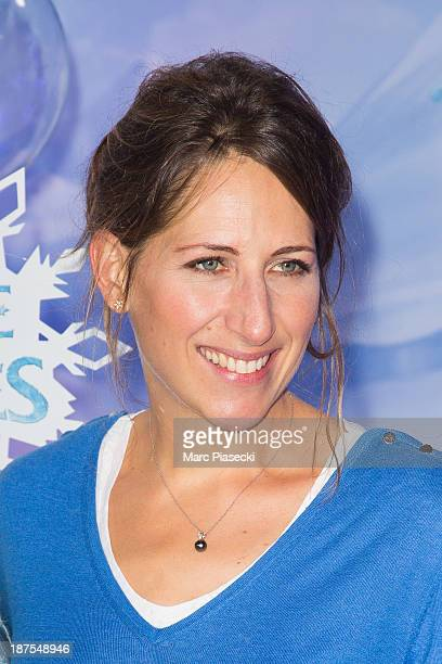 Maud Fontenoy attends the Christmas season launch at Disneyland Paris on November 9 2013 in Paris France