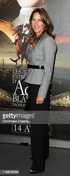 Maud Fontenoy attends the premiere of the Luc Besson's film 'Les Aventures Extraordinaires d'Adele BlancSec' at Cinema UGC Normandie on April 12 2010...