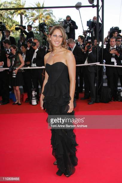 Maud Fontenoy during 2007 Cannes Film Festival Palme D'Or Arrivals at Palais des Festivals in Cannes France