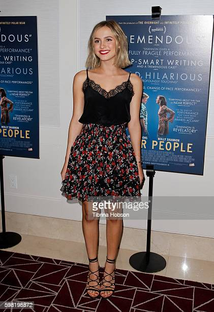 Maude Apatow attends the Premiere of Vertical Entertainment's 'Other People' at The London West Hollywood on August 31 2016 in West Hollywood...