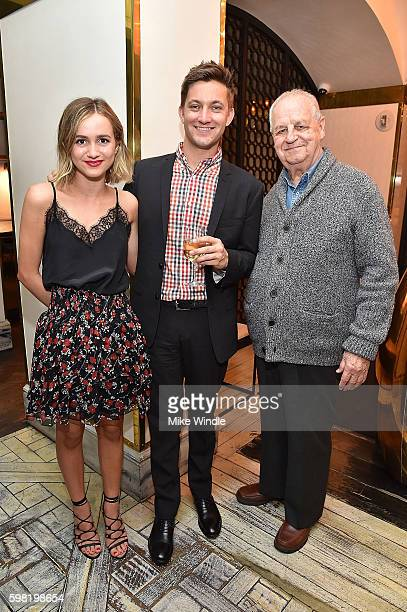 Maude Apatow Chris Kelly and Paul Dooley attend the after party for the premiere of Vertical Entertainment's 'Other People' on August 31 2016 in West...