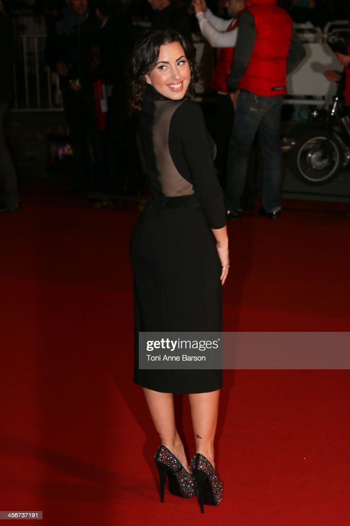 Maude arrives at the 15th NRJ Music Awards at the Palais des Festivals on December 14, 2013 in Cannes, France.