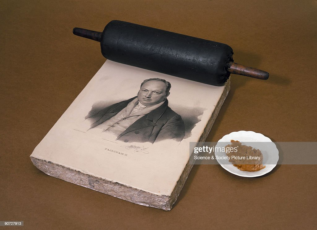 Maudslay�s portrait with leather inking roller Maudslay was an English precision toolmaker who invented the metal lathe in 1797 He designed his lathe...