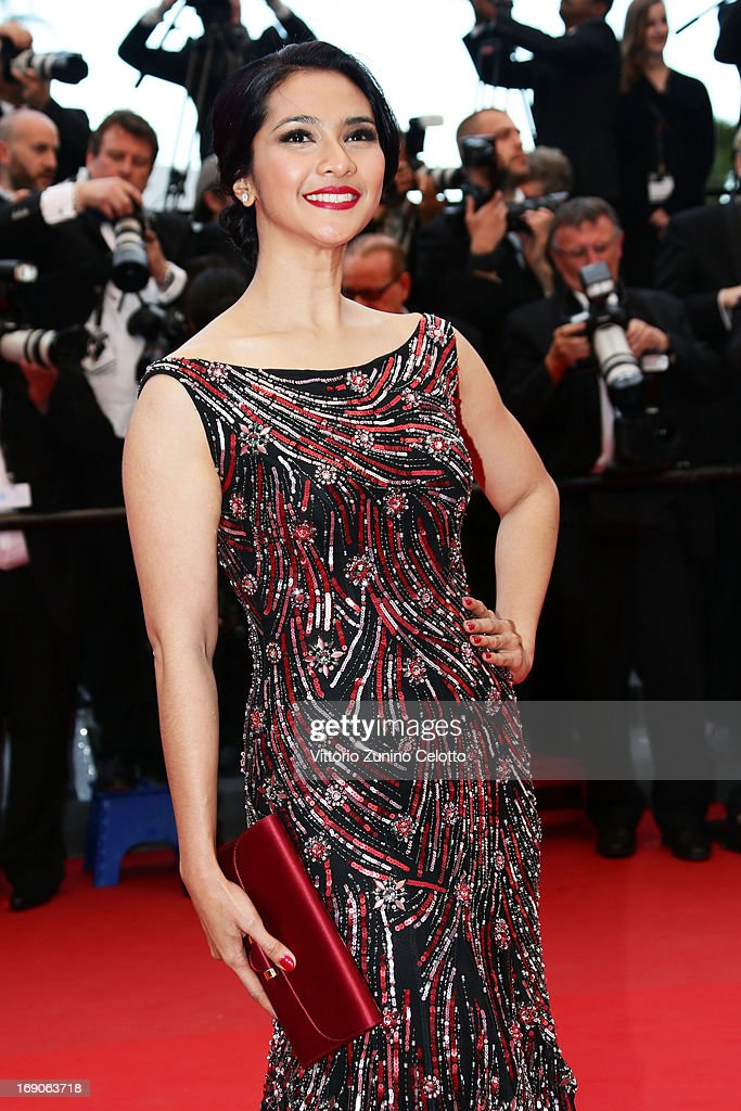 Maudy Koesnadi attends 'Inside Llewyn Davis' Premiere during the 66th Annual Cannes Film Festival at Palais des Festivals on May 19, 2013 in Cannes, France.