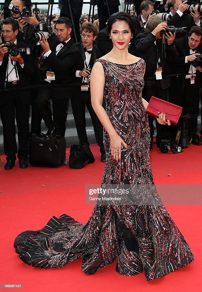 Maudy Koesnadi attends the Premiere of 'Inside Llewyn Davis' at The 66th Annual Cannes Film Festival on May 19, 2013 in Cannes, France.