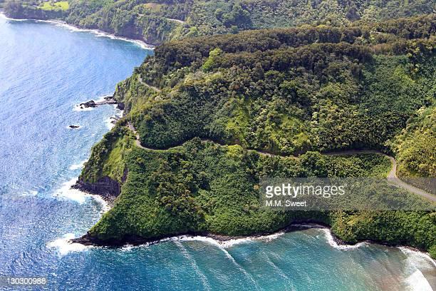 Maui coast aerial