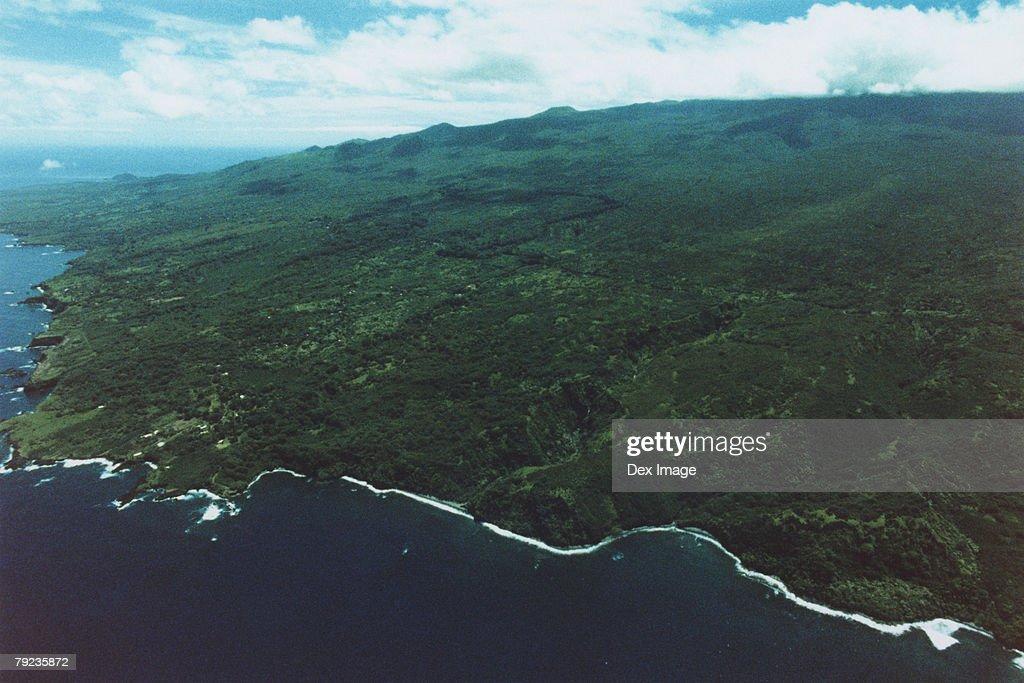 Maui Coastline : Stock Photo