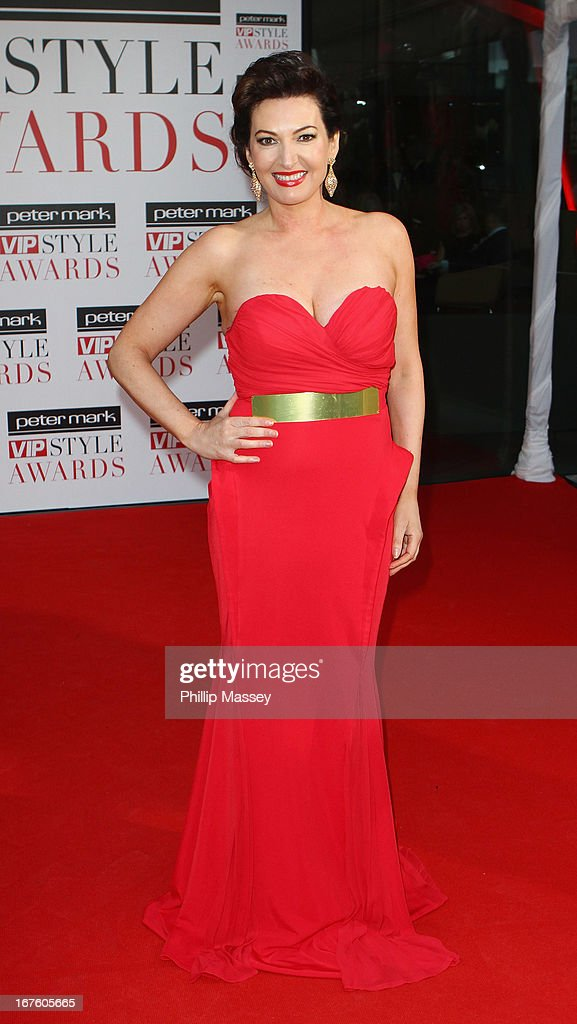 Maura Derrane attends the Peter Mark VIP Style Awards at Marker Hotel on April 26, 2013 in Dublin, Ireland.