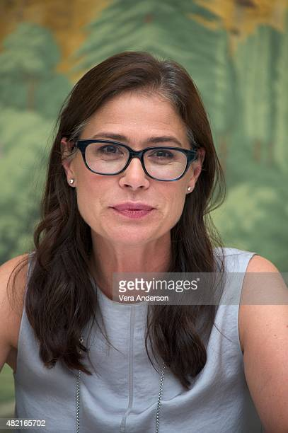 Maura Tierney at 'The Affair' Press Conference at The London Hotel on July 25 2015 in New York City