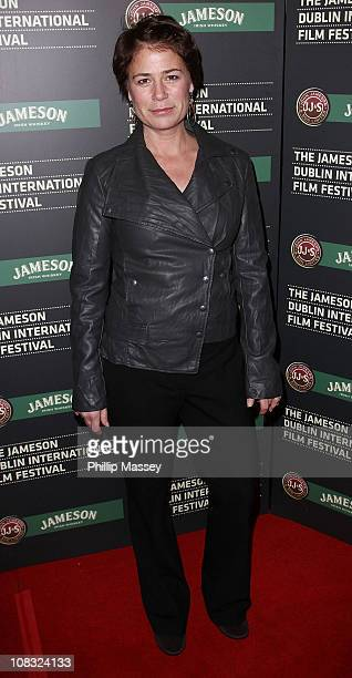 Maura Tierney attends the launch of Jameson Dublin International Film Festival at Tripod on January 25 2011 in Dublin Ireland