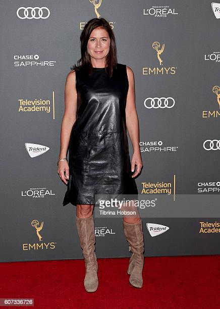 Maura Tierney attends the Television Academy reception for Emmy Nominees at Pacific Design Center on September 16 2016 in West Hollywood California