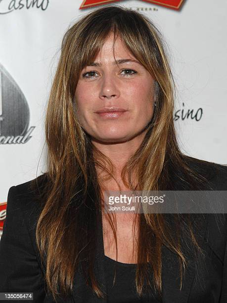 Maura Tierney during 2007 World Poker Tour Celebrity Invitational Red Carpet at Commerce Casino in Commerce California United States