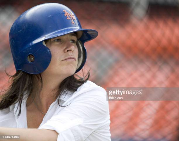 Maura Tierney during 5th Annual 'A Night to Believe' Celebrities Go to Bat for Project ALS at Shea Stadium in Flushing Queens New York United States