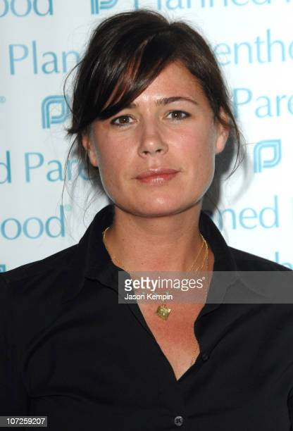 Maura Tierney during OneYear Anniversary Celebration for Planned Parenthood President Cecile Richards June 7 2007 at ADC Gallery in New York City New...