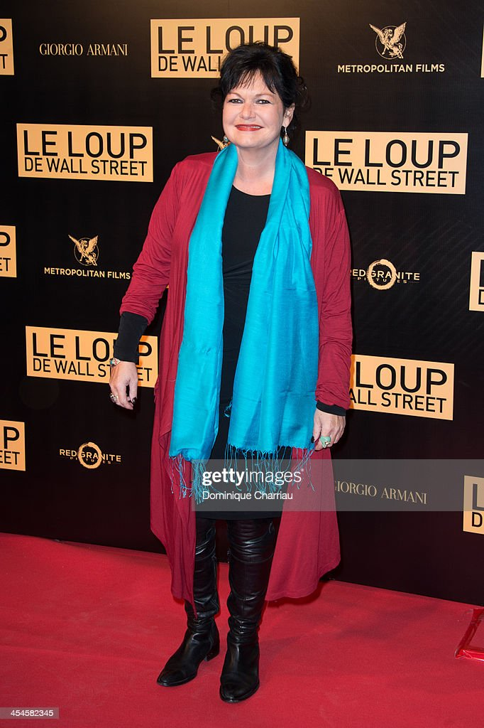 Maurane attends the' Wolf of Wall Street' Photocall At Cinema Gaumont Opera Capucines at Cinema Gaumont Opera on December 9, 2013 in Paris, France.