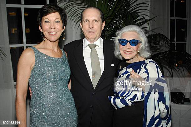 Maureen Case John Cahill and Anne Slater attend LA MER and OCEANA Party for WORLD OCEAN DAY 2008 at 620 Loft Garden on June 4 2008 in New York City