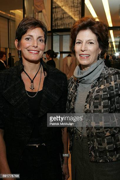 Maureen Chiquet and Coco Kopelman attend The Camellia Luncheon Sponsored by Chanel to benefit The New York Botanical Garden at Chanel on October 25...