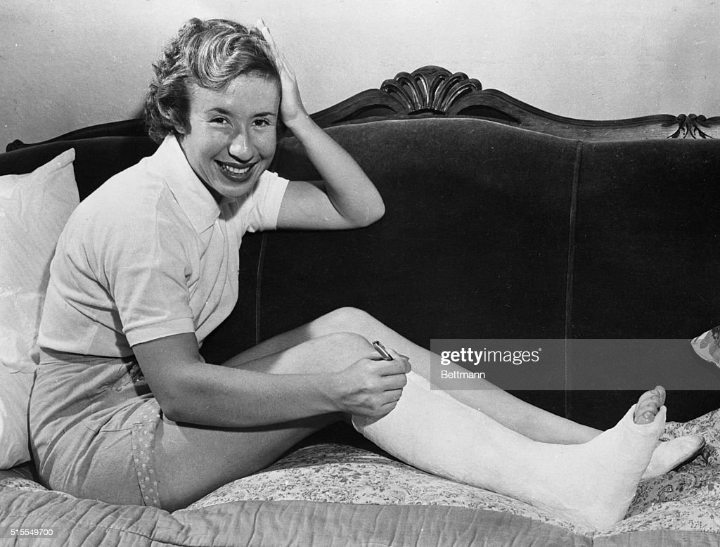 Portrait of Maureen Connolly
