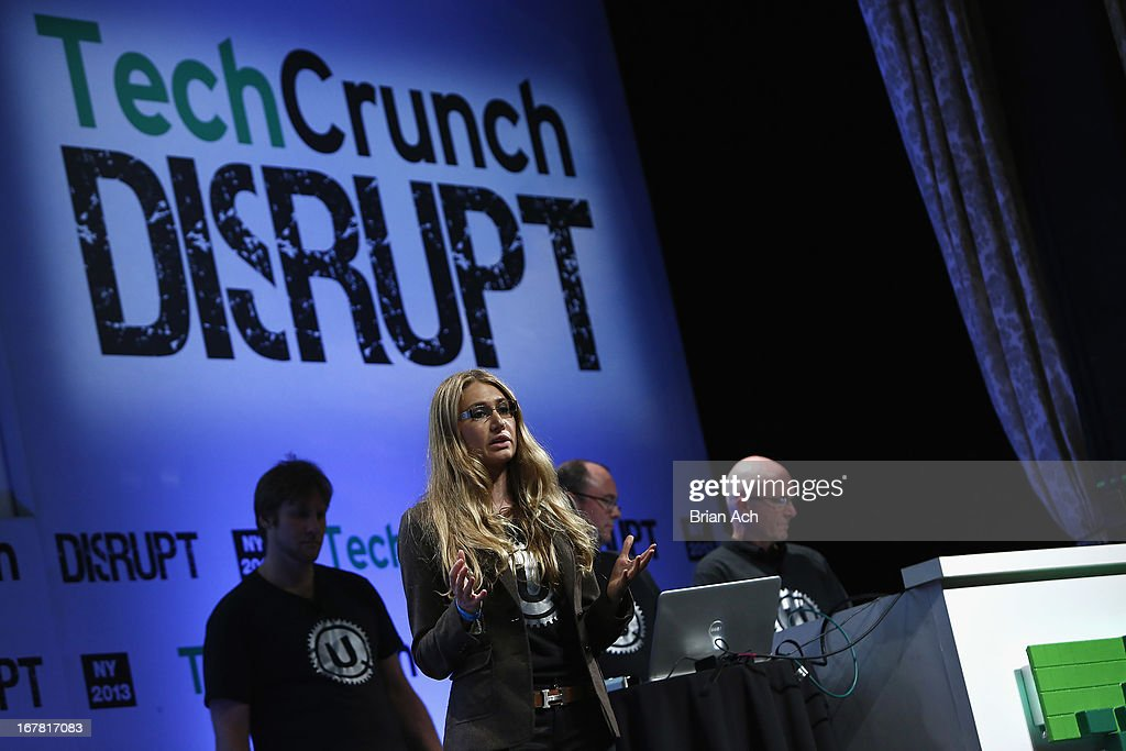 Maureen Dunne presents UQ onstage at the TechCrunch Disrupt NY 2013 at The Manhattan Center on April 30, 2013 in New York City.
