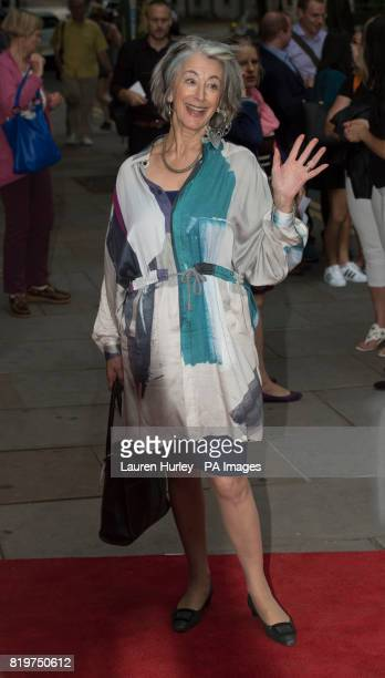Maureen Lipman attending the opening night of Sadleracircs Wells summer tango spectacular Tanguera in London