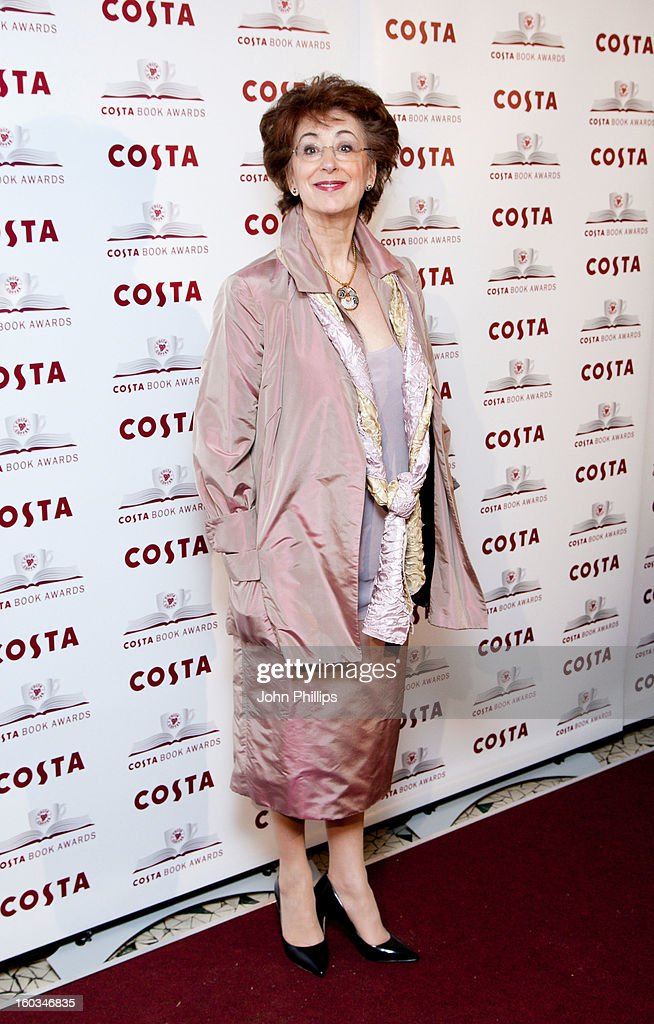 <a gi-track='captionPersonalityLinkClicked' href=/galleries/search?phrase=Maureen+Lipman&family=editorial&specificpeople=159701 ng-click='$event.stopPropagation()'>Maureen Lipman</a> attends the Costa Book of the Year awards>> at Quaglino's on January 29, 2013 in London, England.