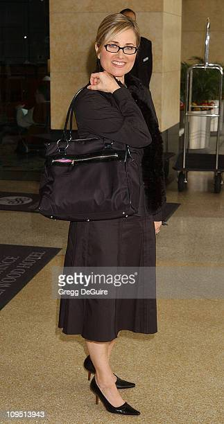 Maureen McCormick during 2003 National Cable Telecommunications Assn Press Tour Day Three at Renaissance Hotel in Hollywood California United States