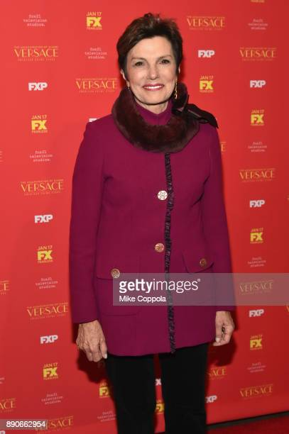 Maureen Orth attends 'The Assassination Of Gianni Versace American Crime Story' New York Screening at Metrograph on December 11 2017 in New York City