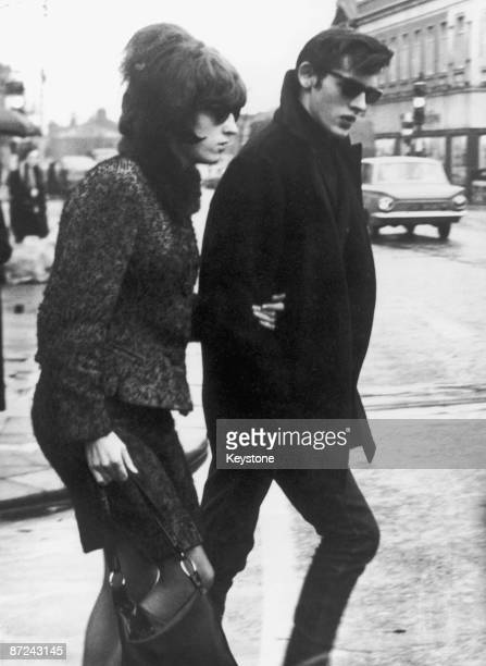 Maureen Smith the sister of Moors murderer Myra Hindley with her husband David during the hearing at Hyde Greater Manchester 9th December 1965 They...