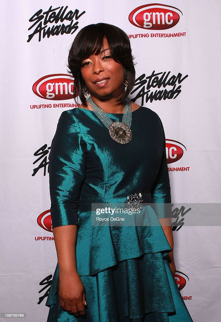Maurette Clark attends the 28th Annual Stellar Awards at Grand Ole Opry House on January 19, 2013 in Nashville, Tennessee.