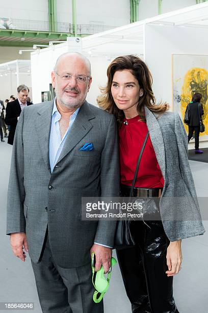 Maurice Amon and his wife Tracey Amon attend the opening of the 40th edition of the FIAC International Contemporary Art Fair at Grand Palais on...
