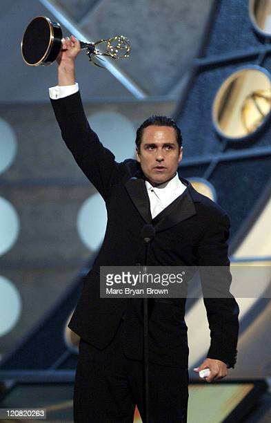 Maurice Benard Best Actor General Hospital during 30th Annual Daytime Emmy Awards Show at Radio City Music Hall in New York NY United States