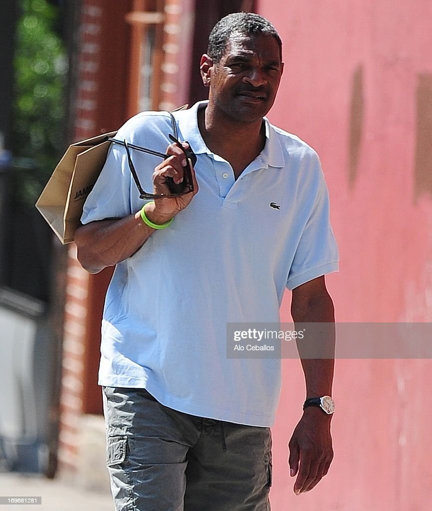 <a gi-track='captionPersonalityLinkClicked' href=/galleries/search?phrase=Maurice+Cheeks&family=editorial&specificpeople=209376 ng-click='$event.stopPropagation()'>Maurice Cheeks</a> is seen in the Meat Packing District on May 30, 2013 in New York City.