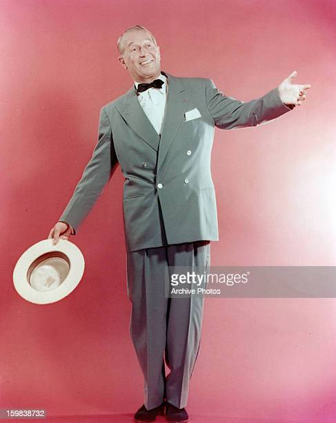 Maurice Chevalier in publicity portrait for the film 'A New Kind Of Love' 1963