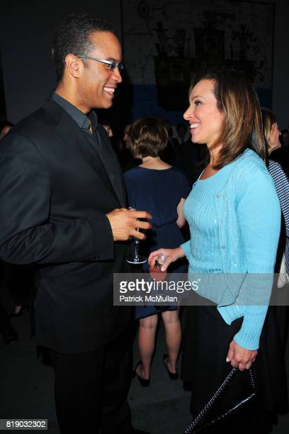 Maurice DuBois and Rosanna Scotto attend JONATHAN TISCH Book Launch Party for 'Citizen You' at The Museum of Modern Art on May 6 2010 in New York City