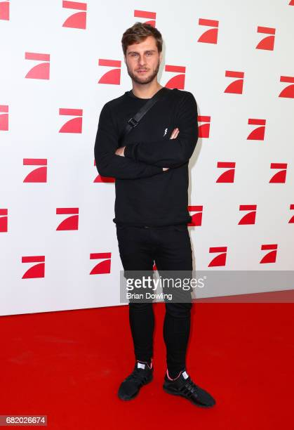 Maurice Gajda arrives at the premiere of the television show 'This Is Us Das ist Leben' at Zoo Palast on May 11 2017 in Berlin Germany