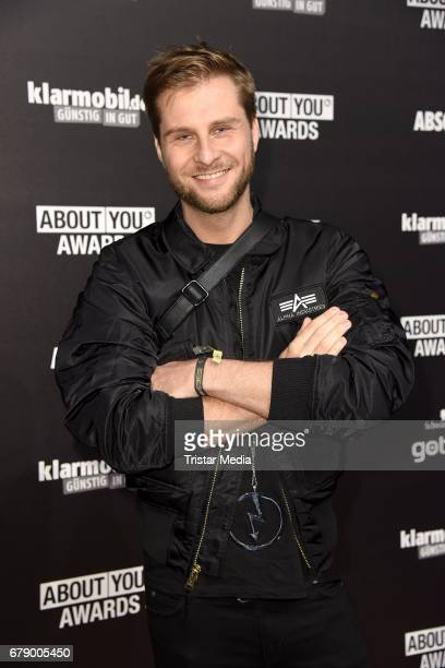 Maurice Gajda attends the About You Awards on May 4 2017 in Hamburg Germany