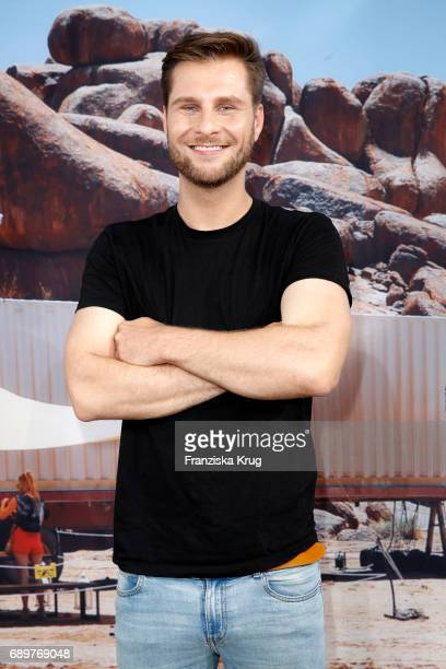 Maurice Gajda attends the 'Global Gladiators' exclusive preview in Berlin at Astor Film Lounge on May 29 2017 in Berlin Germany