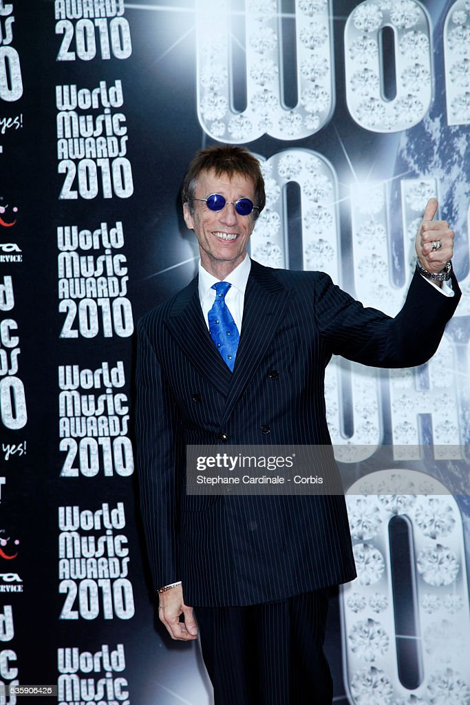 Maurice Gibb at the 'World Music Awards 2010 - show' at the Sporting Club in Monte Carlo, Monaco.