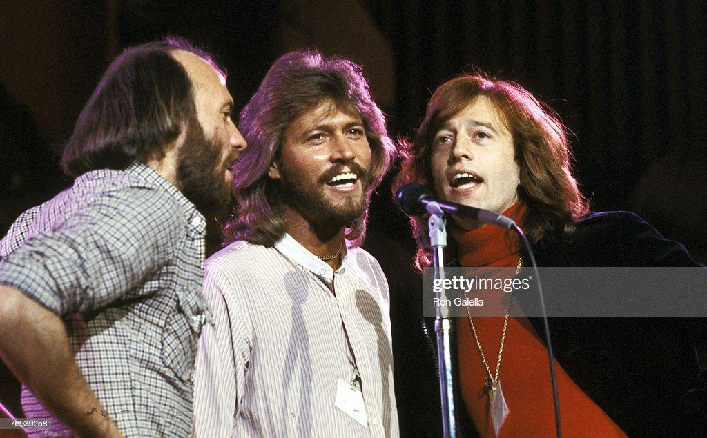Maurice Gibb, Barry Gibb, and Robin Gibb