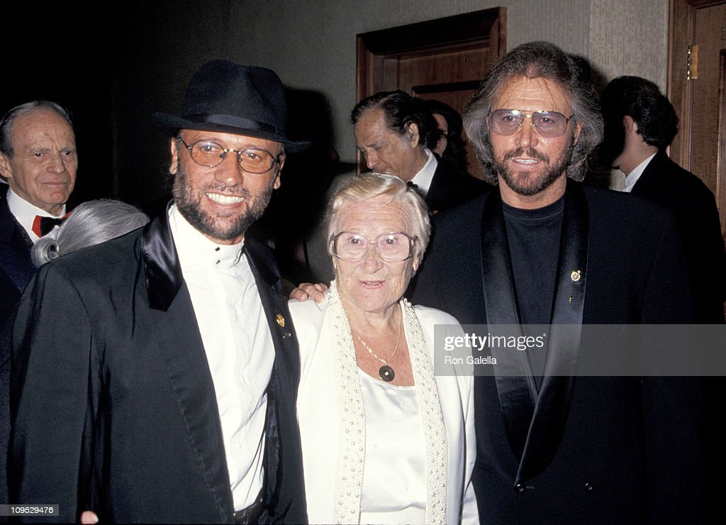 Maurice Gibb, Barry Gibb of The Bee Gees and Mother
