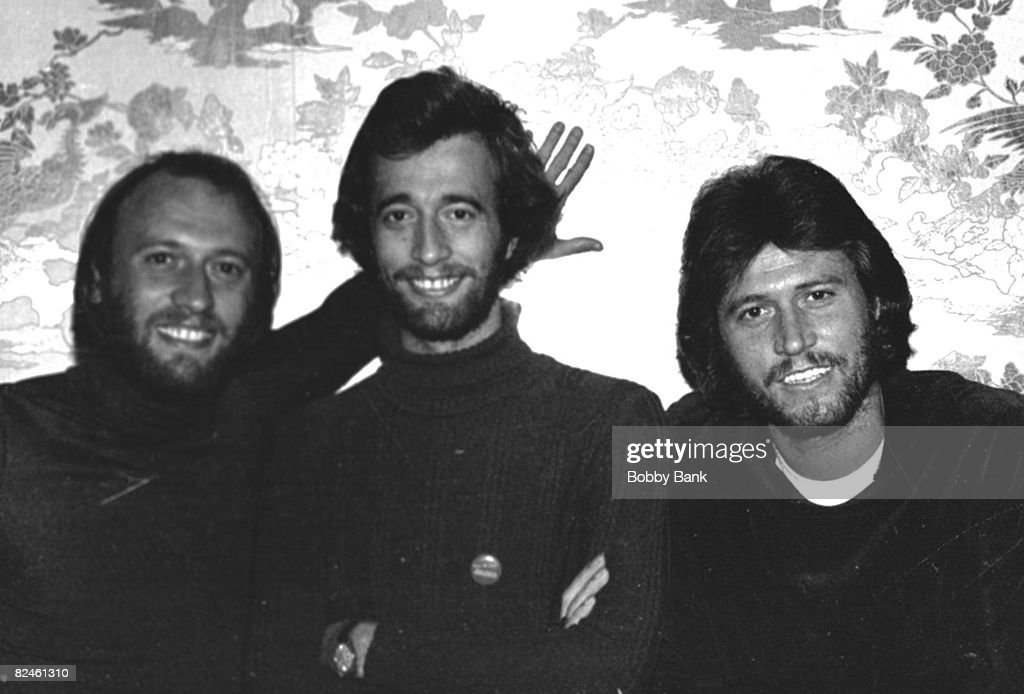 Maurice Gibb, Robin Gibb , and Barry Gibb of The Bee Gees