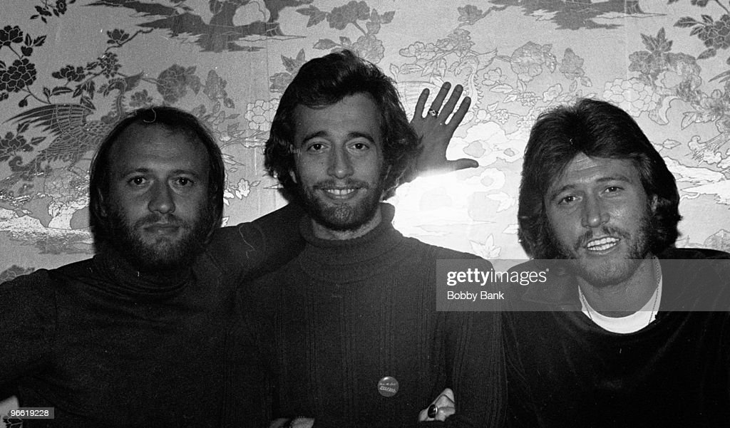 Maurice Gibb, Robin Gibb and Barry Gibb The Bee Gees