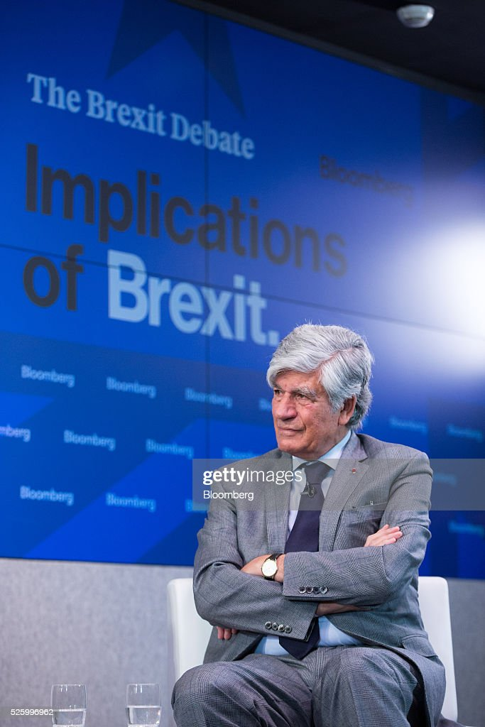 Maurice Levy, chief executive officer of Publicis Groupe SA, pauses during a debate entitled 'The Implications of Brexit' in London, U.K., on Friday, April 29, 2016. U.K. Prime Minister David Cameron said he'll hold a long-pledged referendum on the U.K.s membership of the European Union on June 23. Photographer: Jason Alden/Bloomberg via Getty Images