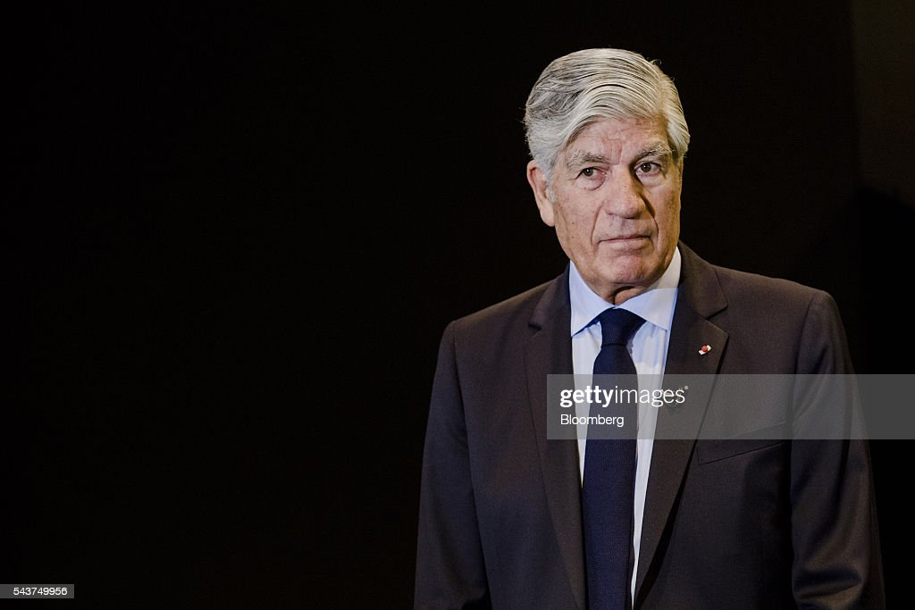 <a gi-track='captionPersonalityLinkClicked' href=/galleries/search?phrase=Maurice+Levy&family=editorial&specificpeople=588854 ng-click='$event.stopPropagation()'>Maurice Levy</a>, chief executive officer of Publicis Groupe SA, pauses during an interview at Viva Technology conference in Paris, France, on Thursday, June 30, 2016. The first edition of the new European Tech conference Viva Technology brings together 5,000 startups with top investors and future shaping companies. Photographer: Marlene Awaad/Bloomberg via Getty Images