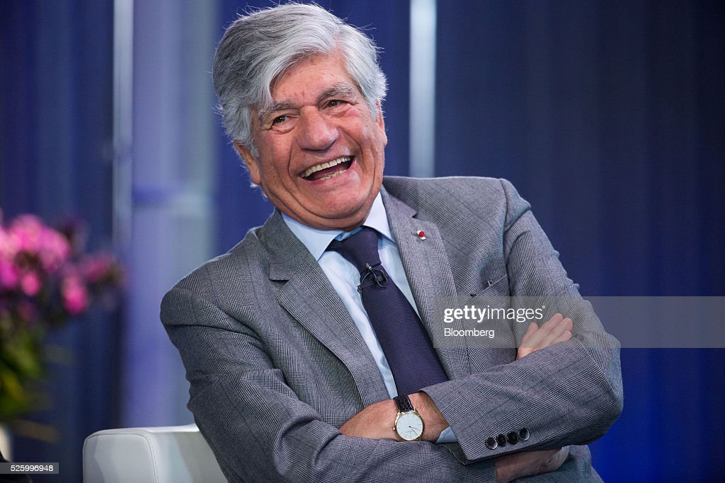 Maurice Levy, chief executive officer of Publicis Groupe SA, reacts during a debate entitled 'The Implications of Brexit' in London, U.K., on Friday, April 29, 2016. U.K. Prime Minister David Cameron said he'll hold a long-pledged referendum on the U.K.s membership of the European Union on June 23. Photographer: Jason Alden/Bloomberg via Getty Images