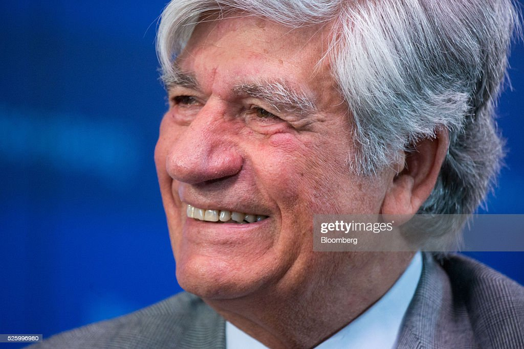<a gi-track='captionPersonalityLinkClicked' href=/galleries/search?phrase=Maurice+Levy&family=editorial&specificpeople=588854 ng-click='$event.stopPropagation()'>Maurice Levy</a>, chief executive officer of Publicis Groupe SA, reacts during a debate entitled 'The Implications of Brexit' in London, U.K., on Friday, April 29, 2016. U.K. Prime Minister David Cameron said he'll hold a long-pledged referendum on the U.K.s membership of the European Union on June 23. Photographer: Jason Alden/Bloomberg via Getty Images