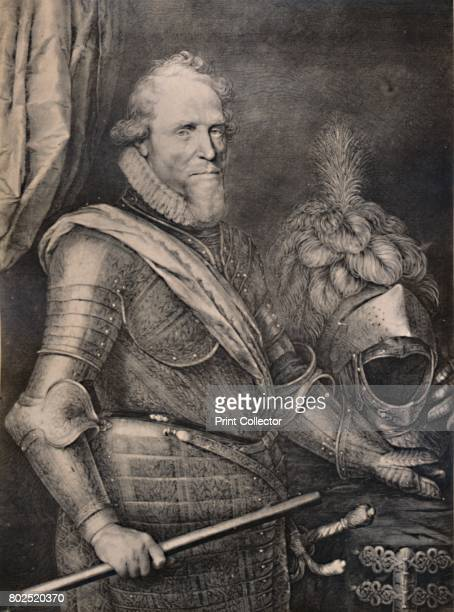 Maurice of Nassau Prince of Orange early 17th century From A Collection of Engraved Portraits Exhibited by the Late James Anderson Rose at the...