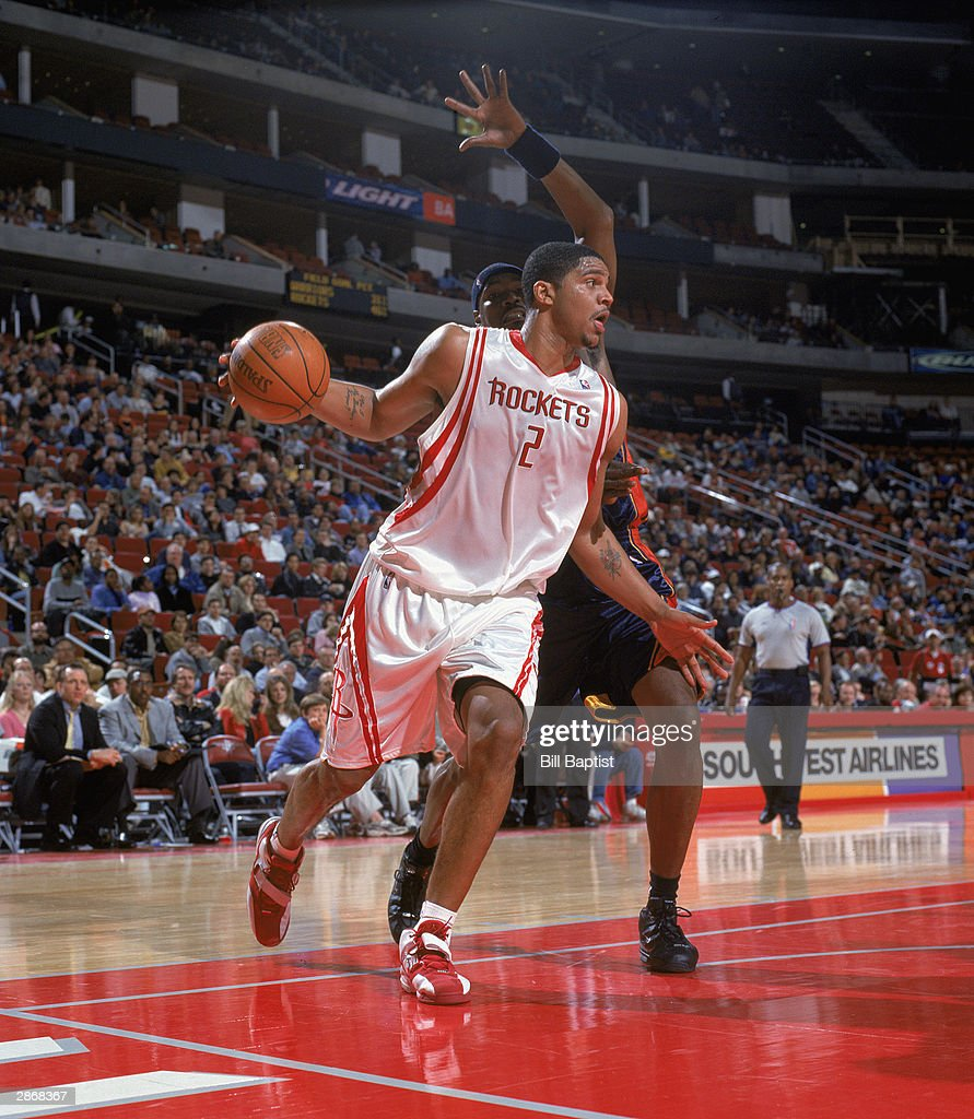 Ho houston rockets nba championship - Maurice Taylor 2 Of The Houston Rockets Drives To The Paint Past Clifford Robinson