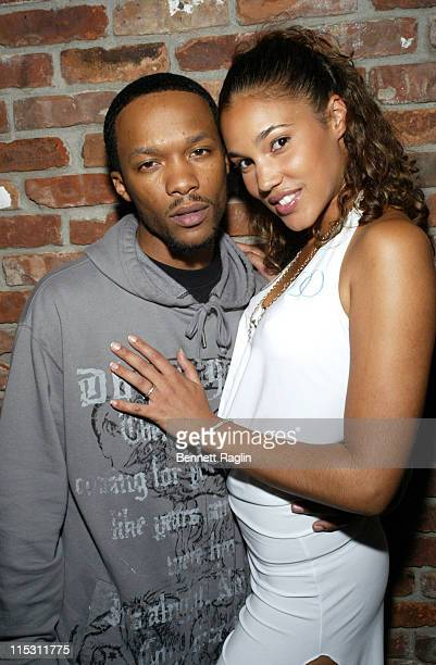 Maurice 'The Authentic' Hayman and guest during 2006 MTV Video Music Awards Sapporo Maybach Present Common Famke Janssen's VMA Cookout 2006 at Sky...